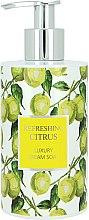 Voňavky, Parfémy, kozmetika Tekuté mydlo - Vivian Gray Refreshing Citrus Cream Soap