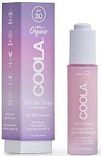Voňavky, Parfémy, kozmetika Opaľovacie kvapky na tvár   - Coola Full Spectrum 360 Sun Silk Drops Organic Face Sunscreen SPF 30