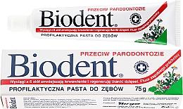 Voňavky, Parfémy, kozmetika Zubná pasta proti periodontitíde - Biodent