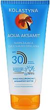 Voňavky, Parfémy, kozmetika Hydratačná opaľovacia emulzia - Kolastyna Aqua Aksamit Suncare Emulsion SPF 30