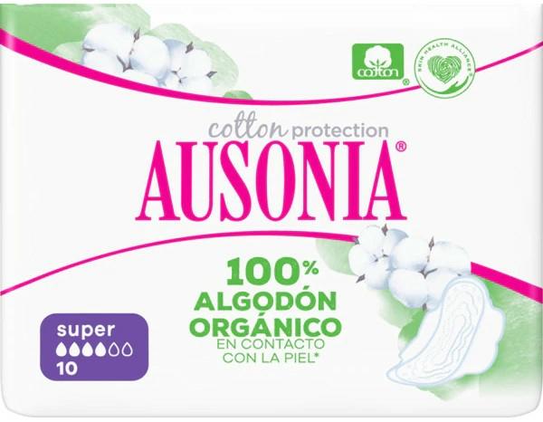 Hygienické vložky, 10 ks - Ausonia Cotton Protection — Obrázky N1