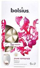 """Voňavky, Parfémy, kozmetika Vonný vosk """"Ruža a jantár"""" - Bolsius True Moods Pure Romance Rose & Amber"""