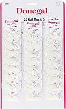 Voňavky, Parfémy, kozmetika Sada umelých nechtov - Donegal Nail Tips & Glue