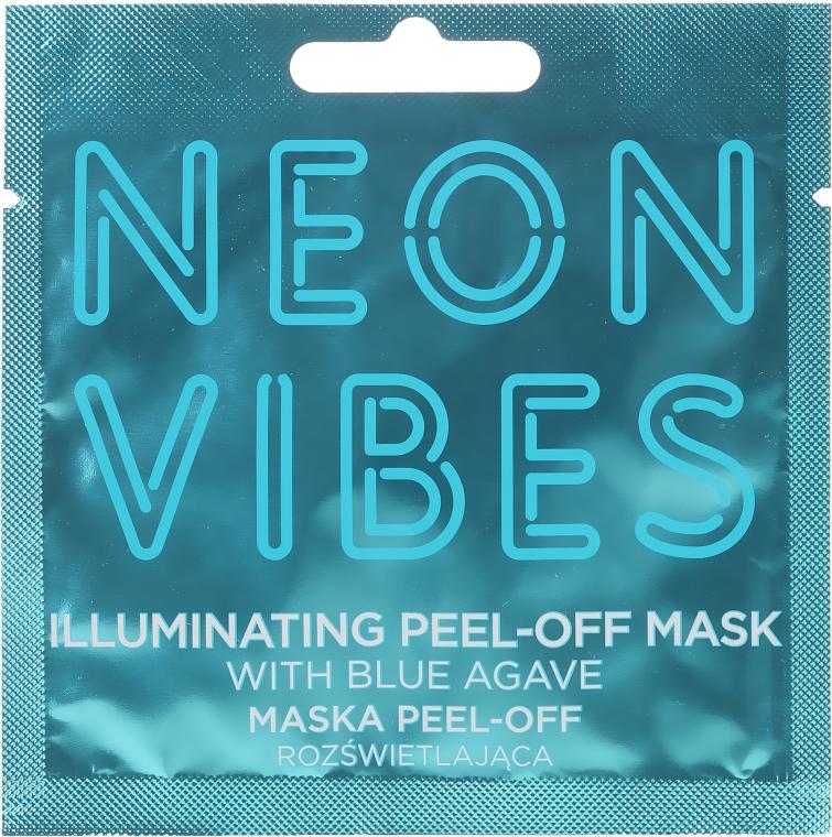 Maska na tvár - Marion Neon Vibes Illuminating Peel-Off Mask