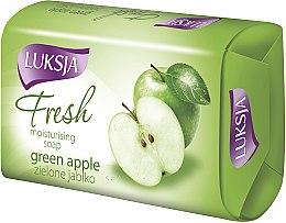 "Voňavky, Parfémy, kozmetika Mydlo ""Zelené jablko"" - Luksja Fresh Green Apple Moisturizing Soap"