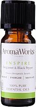 Voňavky, Parfémy, kozmetika Zmes éterických olejov - AromaWorks Inspire Essential Oil