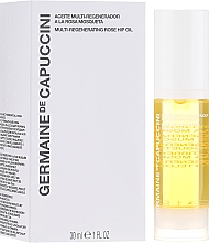 Voňavky, Parfémy, kozmetika Multiregeneračný ružový olej - Germaine de Capuccini Options Universe Multi Regenerating Rose Hip Oil