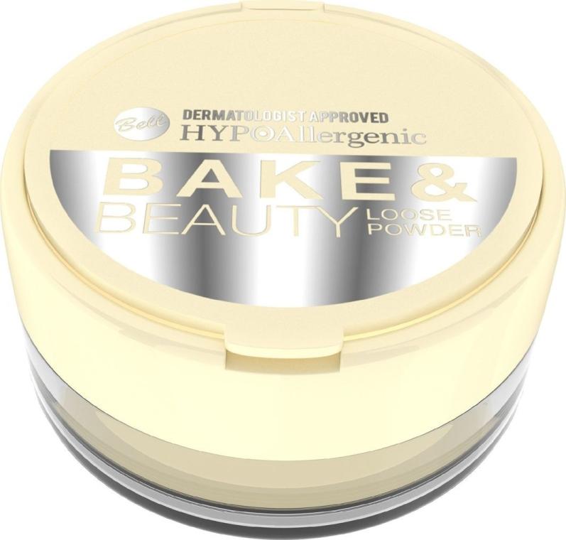 Sypký púder - Bell HypoAllergenic Bake & Beauty Loose Powder