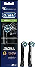 Voňavky, Parfémy, kozmetika Náhradná hlavica do elektrickej zubnej kefky Cross Action CA EB50 Black Edition - Oral-B