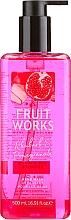"Voňavky, Parfémy, kozmetika Mydlo na ruky ""Rebarbora a granátové jablko"" - Grace Cole Fruit Works Hand Wash Rhubarb & Pomegranate"
