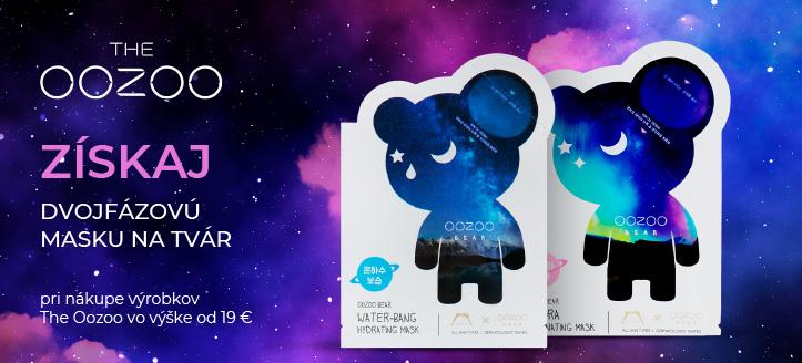 Pri nákupe výrobkov The Oozoo vo výške od 19 € získaj na výber ako darček dvojfázovú masku na tvár