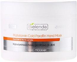 Voňavky, Parfémy, kozmetika Multivitamínová maska na ruky - Bielenda Professional Multivitamin Cold Paraffin Hand Mask