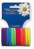 Voňavky, Parfémy, kozmetika Gumičky na vlasy 12 ks, 22487 - Top Choice