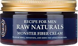 Voňavky, Parfémy, kozmetika Krém na vlasy - Recipe For Men RAW Naturals Monster Fiber Cream