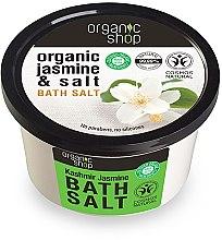 "Voňavky, Parfémy, kozmetika Soľ do kúpeľa ""Jasmín Kašmír"" - Organic Shop Baths Salt Organic Jasmine & Salt"