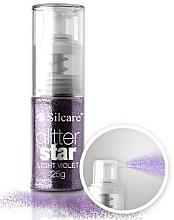 Voňavky, Parfémy, kozmetika Trblietky na ozdobu - Silcare Glitter Star