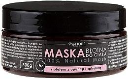 Voňavky, Parfémy, kozmetika Bahenná telová maska so spirulinou, pichľavým hruškovým olejom a kyselinou - E-Fiore Body Mask With Spirulina, Opuntia Oil And HA Acid