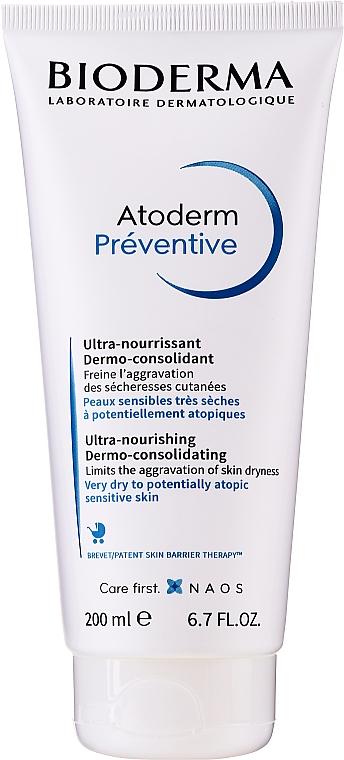 Dermo konsolidujúci výživný krém - Bioderma Atoderm Preventive Nourishing Cream Dermo-Consolidating