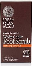 Voňavky, Parfémy, kozmetika Peeling na nohy - Natura Siberica Fresh Spa Russkaja Bania Detox White Cedar Foot Scrub