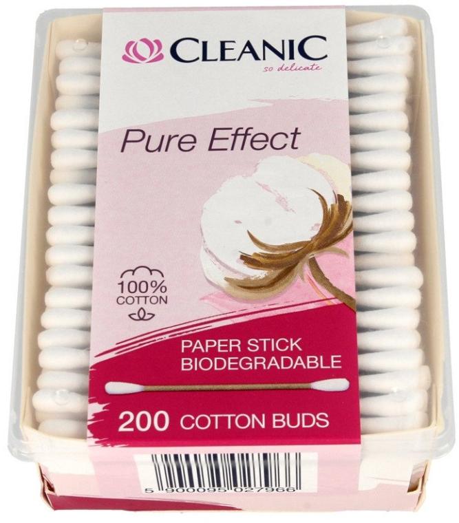 Vatové tyčinky - Cleanic Pure Effect