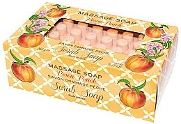 """Voňavky, Parfémy, kozmetika Mydlo-peeling pre masáž """"Broskyňa"""" - Gori 1919 Massage Scrub Soap Peach"""