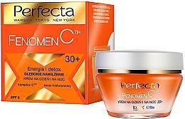 """Voňavky, Parfémy, kozmetika Krém na tvár hlboko hydratujúci """"Energia a detox"""" - Perfecta Fenomen C Cream 30+ SPF 6"""