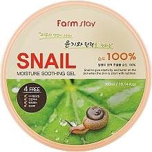 Voňavky, Parfémy, kozmetika Gél so slimačím mucínom - FarmStay Moisture Soothing Gel Snail