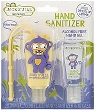 """Voňavky, Parfémy, kozmetika Sada dezinfekčných prostriedkov """"Opica"""" - Jack N' Jill Hand Sanitizer (Monkey)"""
