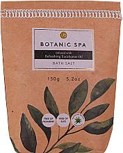 Voňavky, Parfémy, kozmetika Soľ do kúpeľa Osviežujúci eukalyptový olej - Accentra Botanic Spa Refreshing Eucalyptus Oil Bath Salt