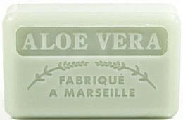 """Voňavky, Parfémy, kozmetika Marseillské mydlo """"Aloe Vera"""" - Foufour Savonnette Marseillaise"""