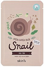 Voňavky, Parfémy, kozmetika Látková maska na tvár - Skin79 Fresh Garden Mask Snail