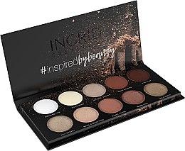 Voňavky, Parfémy, kozmetika Paleta očných tieňov - Ingrid Cosmetics Nude Matt & Glam Palette