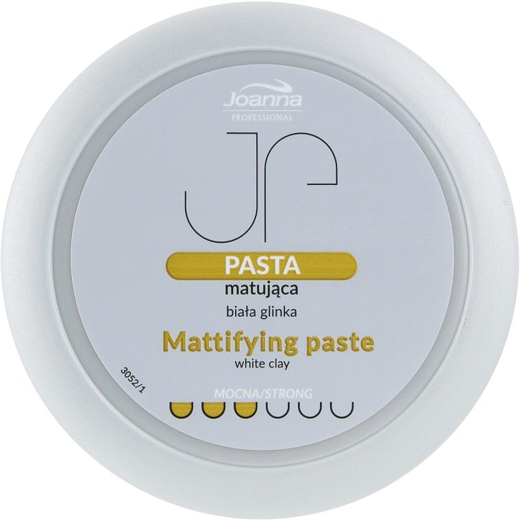 Pasta matná pre styling s bielou hlinou - Joanna Professiona Mattifying Paste