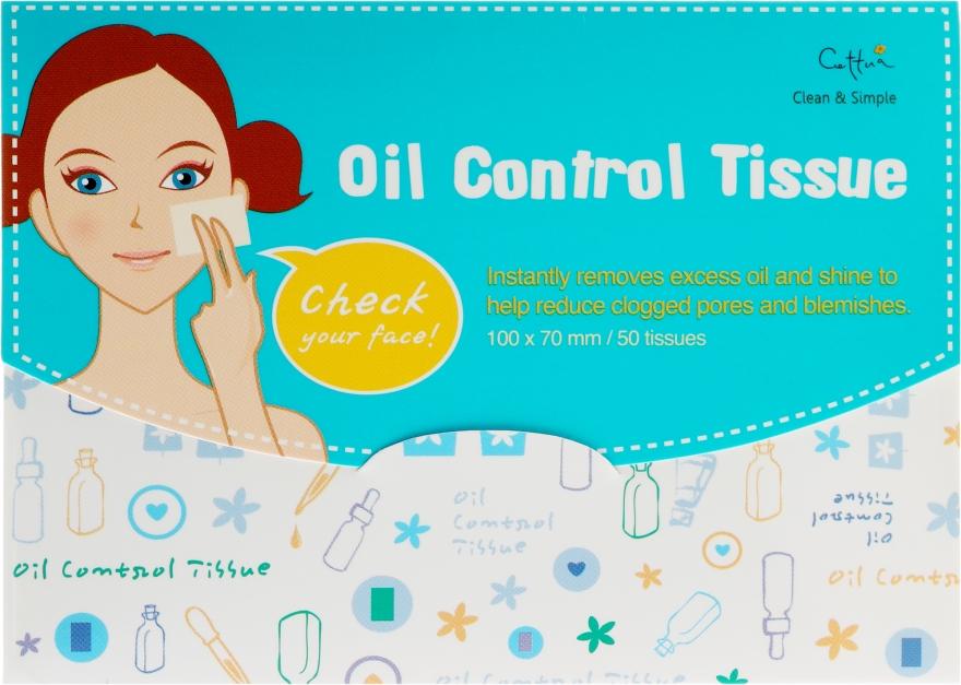 Matujúce obrúsky pre tvár - Cettua Cleansing Mat Tissues