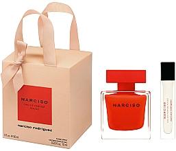 Voňavky, Parfémy, kozmetika Narciso Rodriguez Narciso Rouge - Sada (edp/90ml + edp/mini/10ml)