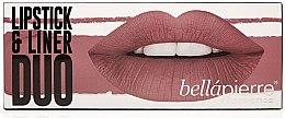 Voňavky, Parfémy, kozmetika Sada - Bellapierre Lipstick & Liner Duo (lip/liner/1.5 g + lipstick/3.5g) (Antique Pink)