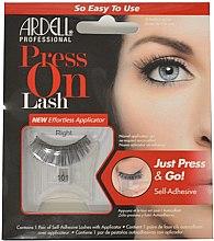 Voňavky, Parfémy, kozmetika Falošné riasy - Ardell Press On Lashes 101 Black