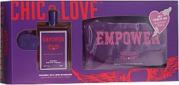 Voňavky, Parfémy, kozmetika Chic&Love Empower - Sada (edt / 100ml + vrecko)