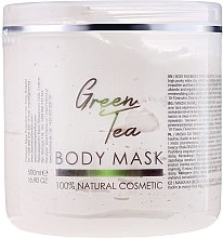 """Voňavky, Parfémy, kozmetika Maska na tvár a telo """"Zelený čaj"""" - Sezmar Collection Professional Body Mask Green Tea"""