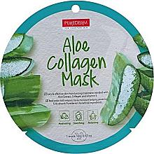Voňavky, Parfémy, kozmetika Kolagénová maska s aloe - Purederm Aloe Collagen Mask