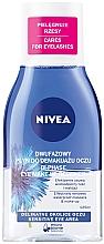 """Voňavky, Parfémy, kozmetika Odstraňovač make-upu """"Dvojitý efekt"""" pre citlivú pleť okolo očí - Nivea Visage Double Effect Eye Make-Up Remover"""