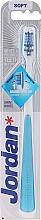 Voňavky, Parfémy, kozmetika Zubná kefka, mäkká, modrá - Jordan Shiny White Toothbrush Soft