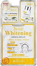 Voňavky, Parfémy, kozmetika Trojstupňová maska na tvár - Bergamo 3-Step Whitening Mask Pack