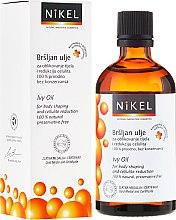 Voňavky, Parfémy, kozmetika Anticelulitídny olej s brečtanom - Nikel Ivy Oil