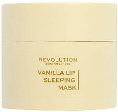 Voňavky, Parfémy, kozmetika Nočná maska na pery Vanilka - Revolution Skincare Vanilla Lip Sleeping Mask