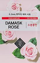 Voňavky, Parfémy, kozmetika Ultratenká maska na tvár s extraktom z damašskej ruže - Etude House Therapy Air Mask Damask Rose