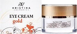 Voňavky, Parfémy, kozmetika Krém pre oblasť okolo očí - Hristina Cosmetics Orient Gold Eye Cream