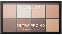 Voňavky, Parfémy, kozmetika Kontúrovacia paleta - Makeup Revolution HD Pro Powder Contour