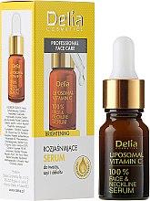 Voňavky, Parfémy, kozmetika Sérum na tvár, krk a dekolte - Delia Liposomal Vitamin C 100% Face Neckline Serum Anti Wrinkle Treatment