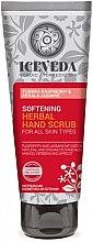 Voňavky, Parfémy, kozmetika Peeling na ruky - Natura Siberica Iceveda Tundra Raspberry&Kerala Jasmine Softening Herbal Hand Scrub